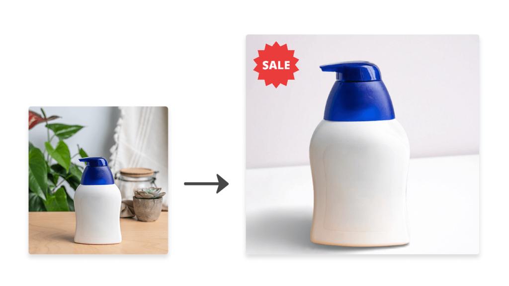 Designify for e-commerce