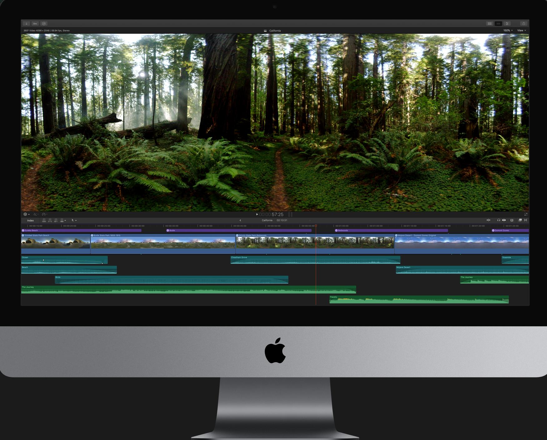 Video editing in final cut pro